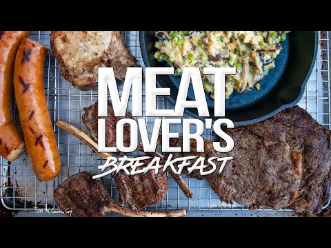 The Ultimate MEAT LOVER'S Breakfast | SAM THE COOKING GUY 4K