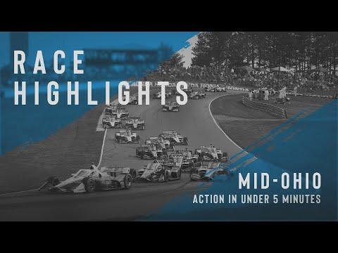 インディーカー第10戦 ミド・オハイオ 決勝レースハイライト動画