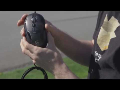Logitech G500s Gaming Mouse Unboxing & Overview