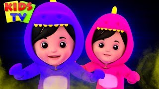 Hello Mr Ghost - Kids Halloween Songs & Bob The Train Nursery Rhymes
