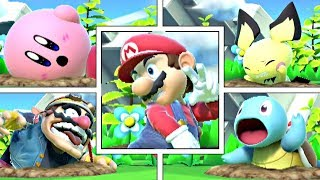 Every Character's Buried Animations In Super Smash Bros Ultimate
