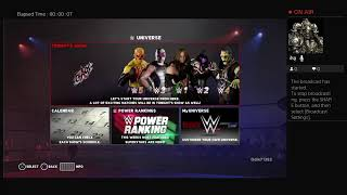 The Late LATE Stream: WWE2k18 Monsterfest