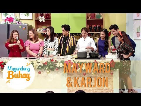 KarJon and Edward's Christmas favorites | Magandang Buhay