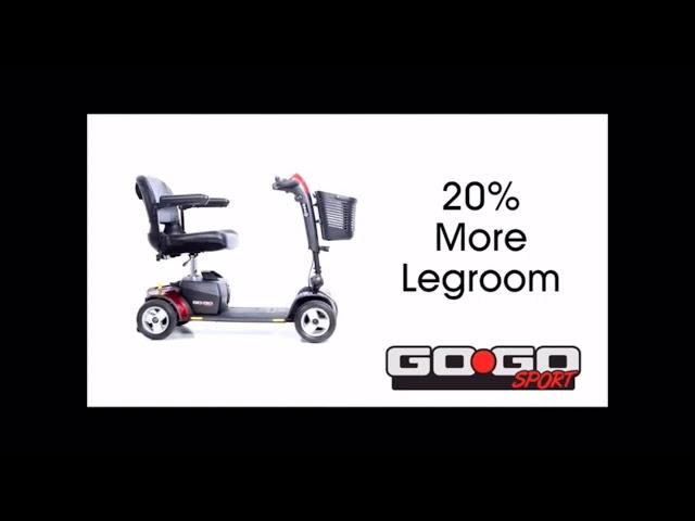 Pride Go Go Elite Sport Mobility Scooter Video