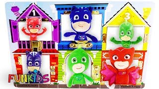 Best Toy Learning Video for Kids with PJ Masks Trapped By Romeo