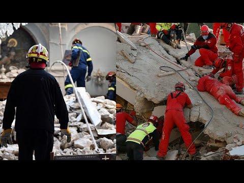 Σεισμός στο Αιγαίο: Το δράμα σε Σάμο και Σμύρνη