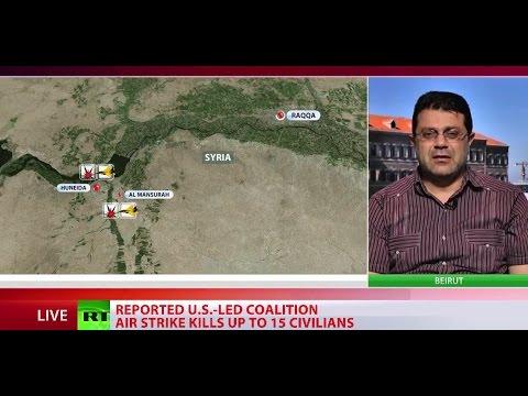 Civilians killed in suspected US-led coalition strike near Raqqa, Syria