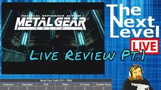 Metal Gear Solid Live Review Pt.1: What's going on here? TNL Live