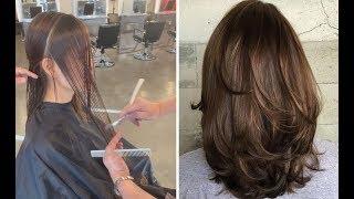 Medium Length Layered Haircut Tutorial Step By Step - Medium Length Bob Hairstyles