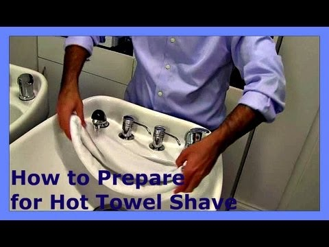 ✄ Barber Tutorials 7 – How to Prepare for Hot Towel Shave