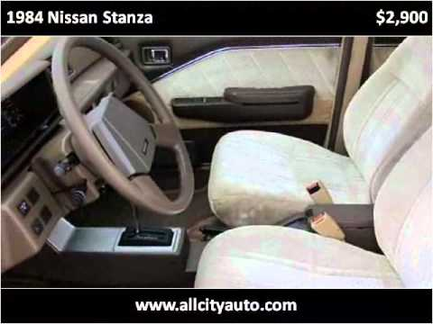1984 Nissan Stanza available from All City Auto Center