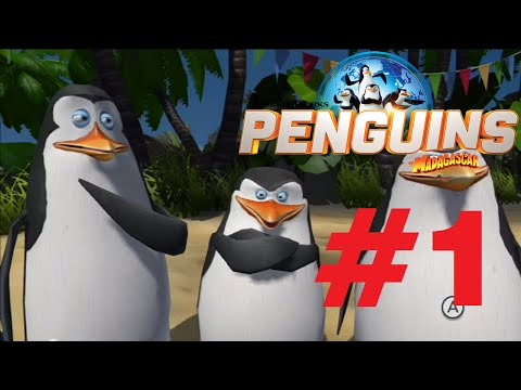 les pingouins de madagascar wii u test
