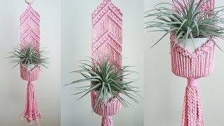 DIY Macrame Plant Hanger #13 / 마크라메 플랜트행거 #13
