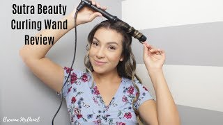 Sutra Beauty Curling Wand Review   Breanna Mcdaniel