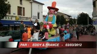 preview picture of video 'CARNAVAL 2012 à MONT-DE-MARSAN par Eddy & France'