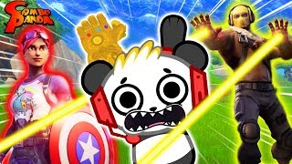 FORTNITE X AVENGERS : Endgame ! Let's Play Iron Man vs. Thanos with Combo Panda