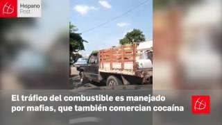 Mafias que trafican cocaína venden gasolina en Maicao