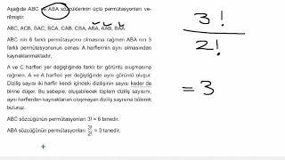 Eğitim Vadisi 10.Sınıf Matematik 2.Föy Sayma ve Olasılık 3 Konu Anlatım Videoları