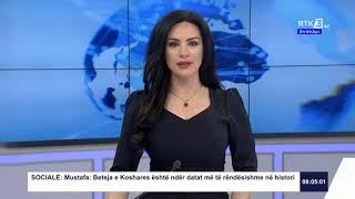 RTK3 Lajmet e orës 08:00 10.04.2020