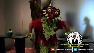 SDCC 2016 - How I made Legend of Zelda Majora's Mask by Cosplayer Nation