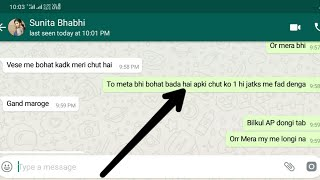 Mene Bhabhi ko ase pataya || how to impress whatapp girl