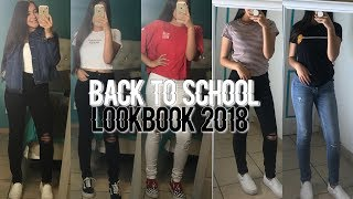BACK TO SCHOOL LOOKBOOK OUTFIT IDEAS 2018