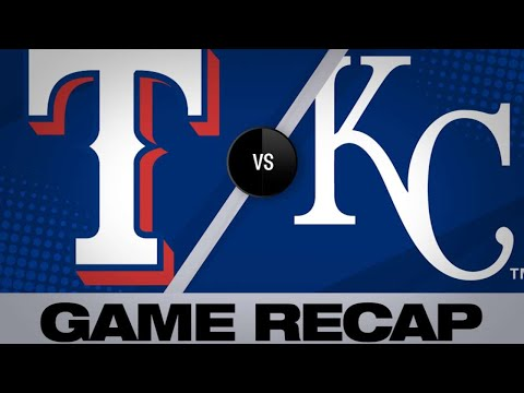 Rangers drive home 16 runs in rout of Royals - 5/16/19