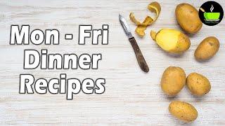 10 Minutes Instant Dinner Recipe | Easy Dinner Recipe | Quick Dinner Recipe| Veg Dinner Recipes
