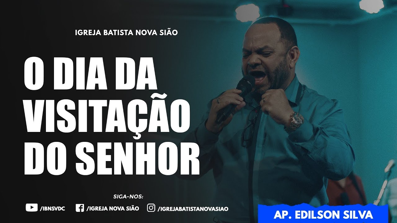 CULTO AO VIVO IGREJA NOVA SIÃO – DOM. NOITE 14/02/2021