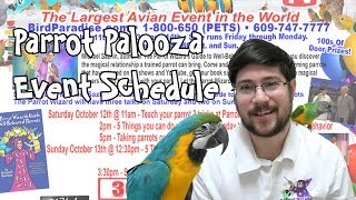 Parrot Wizard 2019 Parrot Palooza Schedule