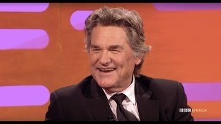 Kurt Russell Reveals Why You Can't Fall Asleep on Quentin Tarantino's Set - The Graham Norton Show