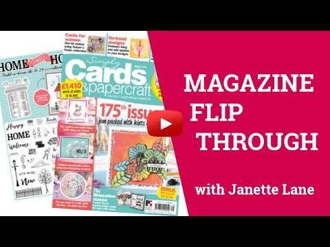 Magazine Flip Through! Simply Cards & Papercraft 175th Issue!