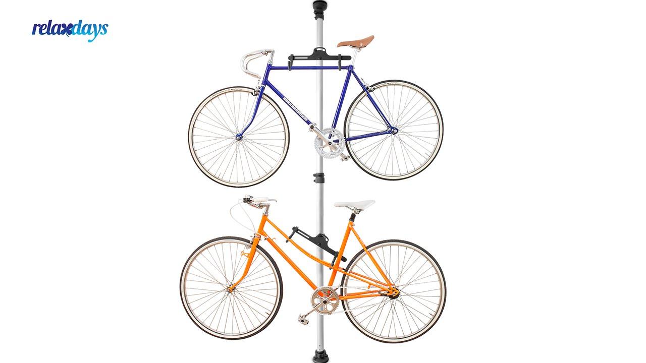 Video von: Fahrradhalterung Teleskop für 2 Räder