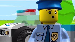 👍 LEGO JUNIORS. Мультики про машинки. ЛЕГО мультики - Супер полицейский
