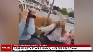 Wideo1: Bójka przy szkole. Nikt nie reagował