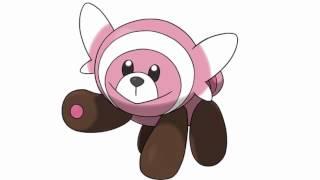 Stufful  - (Pokémon) - Pokemon Cries - Stufful | Bewear