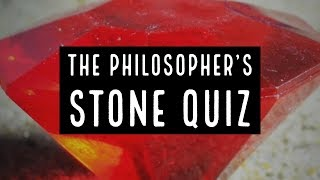 The Philosophers Stone Book Quiz
