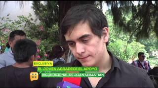 Julián Figueroa escribió canción para su padre