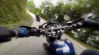 Hero Impulse (On Board) & Yamaha R15 V3 Speed Riding Part 1