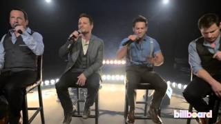 98 Degrees Perform 'Microphone' acoustic live