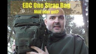 Miltec One Strap EDC Tasche - MüllTec oder gut?