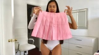 School Girl Skirts Try On Haul