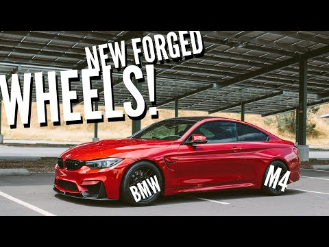 NEW APEX ARC-8r FORGED WHEELS FOR THE BMW M4