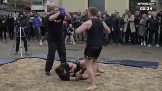 Roberto Canavar kuralsız dövüşlerde !!!