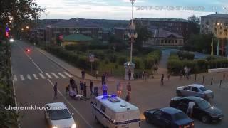 ДТП в Черемхово  13 июля 2017