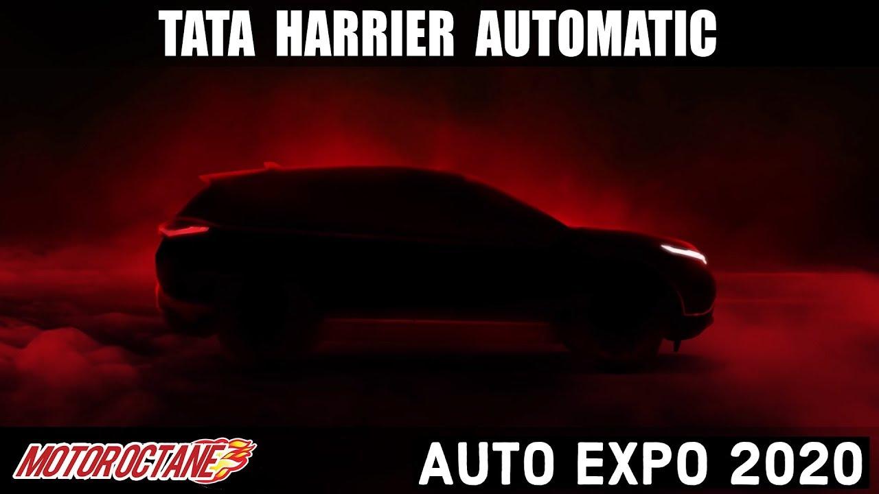 Motoroctane Youtube Video - 2020 Tata Harrier Automatic - Coming at Auto Expo 2020 - 3 DAYS to GO! MotorOctane