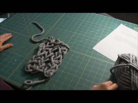 Arm Knitting - Binding Off
