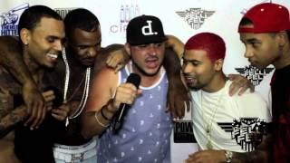 Game, Chris Brown & DJ Felli Fel @ Powerhouse 2013 (Freestyle)