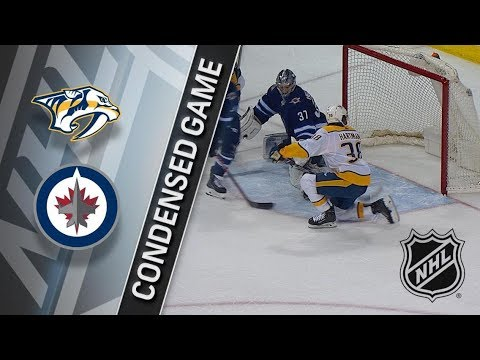 Nashville Predators vs Winnipeg Jets – Feb. 27, 2018 | Game Highlights | NHL 2017/18. Обзор
