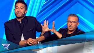 This MAGICIAN Will TRICK You With His HANDS TIED UP! | Auditions 5 | Spain's Got Talent Season 5